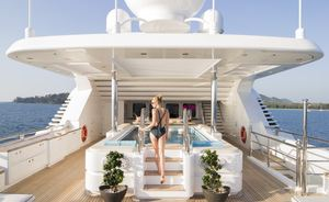 Lurssen Superyacht TITANIA to Charter in South East Asia this Christmas