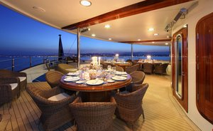 Freshly refit superyacht SHERAKHAN offers charter special