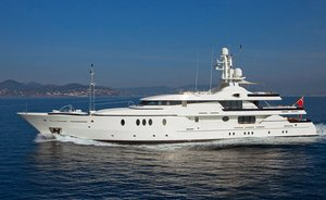 Amels 52m superyact 'Deja Too' offers 25% discount in the West Med