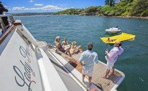 Discover the Whitsundays With Azimut  Motor Yacht 'Lady Pamela'