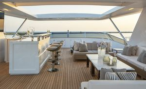 Benetti superyacht RANIA now available for charter