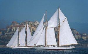 Classic Yacht PURITAN Returns to Charter Market in the Mediterranean
