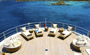 M/Y Kismet Sold and Withdrawn from the Yacht Charter Fleet