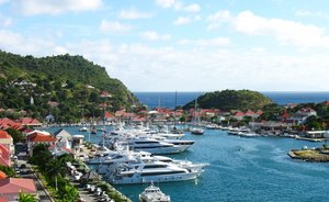Charter Yachts Gather In St Barts For New Year's Eve Celebrations