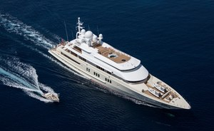 Superyacht 'Coral Ocean' announces availability for Caribbean yacht charters this winter