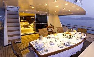 Superyacht NOMI has Flexible Availability in the Mediterranean