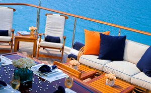 US labour weekend yacht charter: luxury yacht M4 offers special rates in the Hamptons