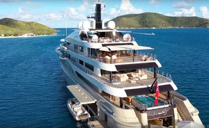 VIDEO: Superyacht 'Here Comes the Sun' in the British Virgin Islands