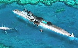 Submarine-Superyacht Concept to Revolutionize Luxury Yachting?