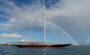 Sailing Yacht RAINBOW Drops Mediterranean Charter Rate