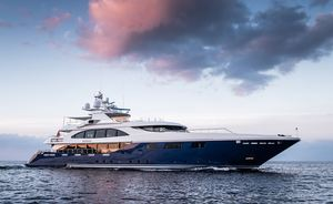 Superyacht ARBEMA available for winter charter in the Caribbean after extensive refit