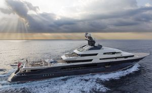 Could superyacht EQUANIMITY join the charter fleet?
