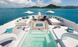 73m superyacht SIREN opens for late-summer Mediterranean yacht charters