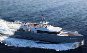 Luxury yacht 'Only Now' joins the charter fleet