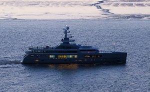 New 73m Superyacht CLOUDBREAK Nears Completion