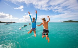 Escape to the Bahamas over the holidays on board superyacht USHER