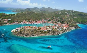 Charter Yachts Descend On St Barts For New Year's Eve