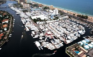 Preparations Begin For The Fort Lauderdale International Boat Show 2016