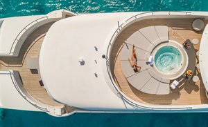 Caribbean yacht charters available with superyacht 'Big Sky' this winter