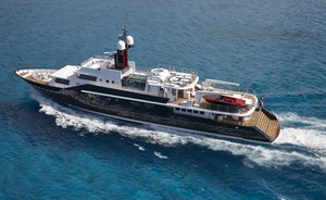 Special Christmas and New Year's deal with superyacht HIGHLANDER in the Caribbean
