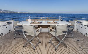 Motor Yacht 'Quo Vadis' Special Charter Offer in Ibiza