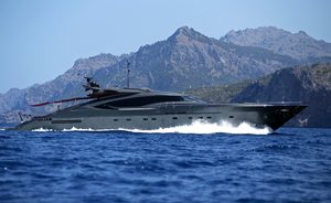 Luxury Yacht ASCARI Prepares for Ibiza Charter Season