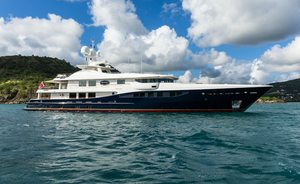 Amels charter yacht DENIKI embarks on two-year global expedition