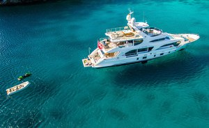 Complimentary case of Dom Perignon when you book with superyacht LULU