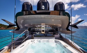 Luxury yacht 'Grey Matters' offers special rates in the Bahamas