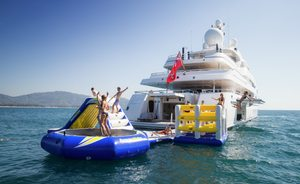 Superyacht TITANIA open to charter at a reduced rate throughout February
