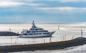 Feadship charter yacht UTOPIA returns to Mediterranean in 'better-than-new' condition