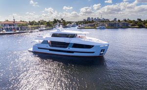 Brand new 27m motor yacht DAY ONE now available for Bahamas yacht charters