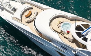 Thanksgiving yacht charter available in the Bahamas on board superyacht GIGI