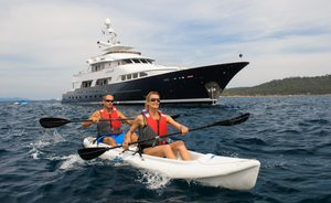 Superyacht L'ALBATROS Open for New Year's Charter in the British Virgin Islands