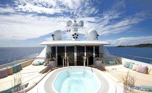 Superyacht 'Lady Britt' has Charter Gap in the Mediterranean