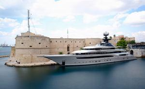 Superyacht KISMET to star in $150 million movie, 'Six Underground'