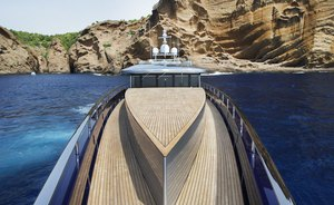 Superyacht BLADE Offers 15% Reduction On Late-Summer Charters