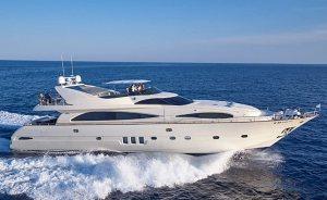Recently refitted 30m motor yacht ASTONDOA joins Mediterranean charter fleet