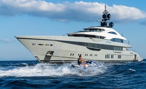 Charter 80m superyacht TATIANA for a luxury Caribbean getaway this winter