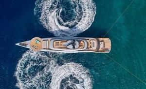 New pictures:  55m charter yacht GECO shows off unique design