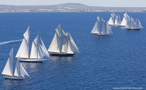 Racing Gets Underway at the Superyacht Cup Palma