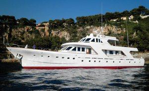 Classic Motor Yacht Sprezzatura For Charter