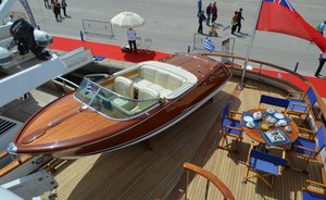 Classic Yacht CAMELLIA II New to Charter with Vintage Tender