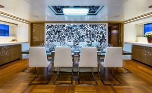 Benetti Charter Yacht GALAXY Completes Major Interior Refit