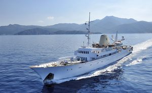 The Crown: filming on board the iconic yacht CHRISTINA O in Mallorca