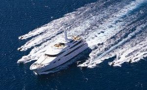 Luxury Yacht 'Lady Sheridan' Cruises the French Riviera