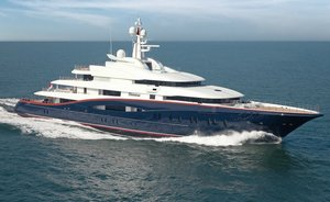 Last chance to charter 89m superyacht NIRVANA in the Maldives