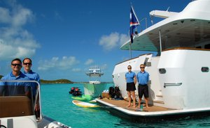 Charter Motor Yacht 'SWEET ESCAPE' in the Caribbean this Thanksgiving