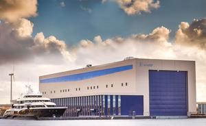 Feadship's New Superyacht Facility Enjoys Royal Approval