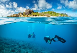 The best places to scuba dive during a Seychelles superyacht charter